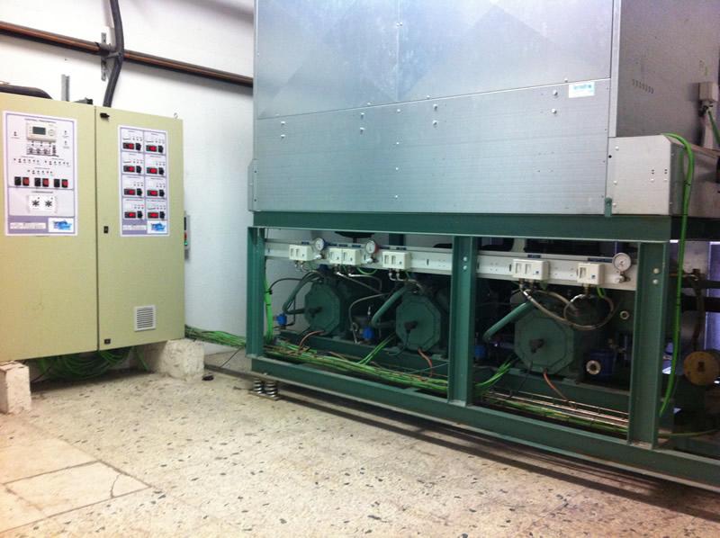 Centrales frigoríficas