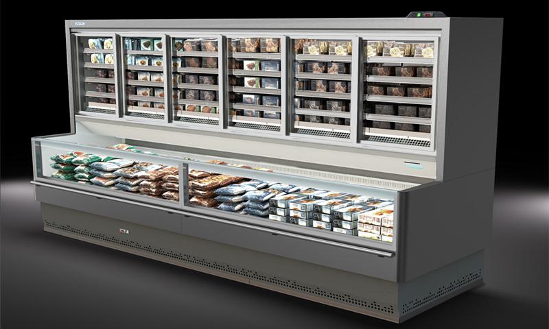 Vitrinas refrigeradas y frigoríficas